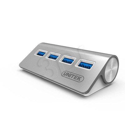 UNITEK HUB 4 X USB3.0 ALUMINIUM Y-3186