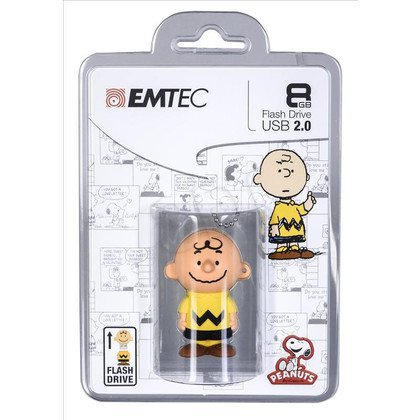 Emtec Flashdrive PN101 8GB USB 2.0 Charlie Brown