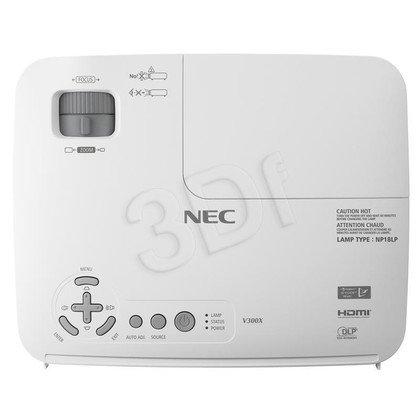 PROJEKTOR NEC V281W DLP WXGA 2800 ANSI 3000:1 HDMI