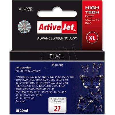 ActiveJet AH-27R (AH-727) tusz czarny do drukarki HP (zamiennik HP 27 C8727A)
