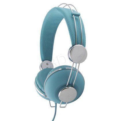 Słuchawki nauszne Esperanza MACAU (Turkusowo-srebrny)