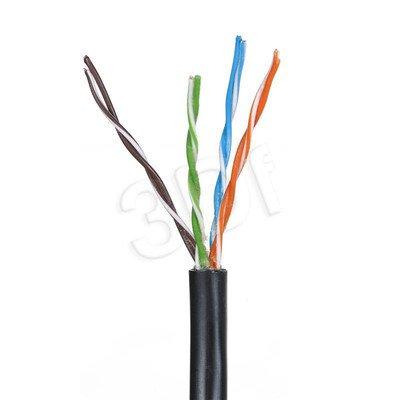 Madex kabel U/UTP kat.5e 305m 4PR żelowany czarny