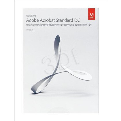 Adobe Acrobat Standard DC 2015 Windows PL 1 user