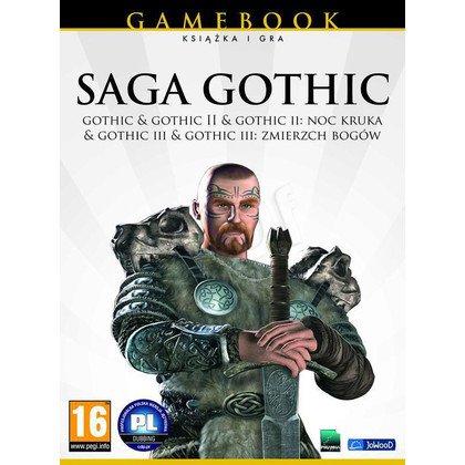 Saga Gothic (Gothic I, II i III + dodatki) - książka + gry