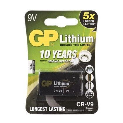 GP BATERIA LITOWA; 9V / U9VL; 9.0V