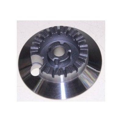 Kołpak (podstawa) palnika małego Whirlpool (481936078396)