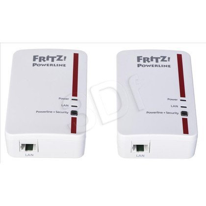 AVM Fritz 1000E Powerline 1200Mb/s 2szt. 1x1Gb/s