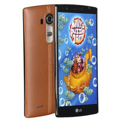 "Smartphone LG G4 H815 32GB 5,5"" Brązowa skóra LTE"