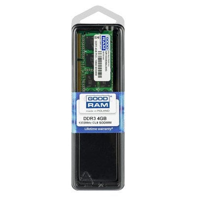 GOODRAM SO-DIMM DDR3 4096MB PC1333 CL9