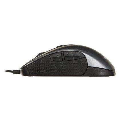 Steelseries Mysz przewodowa optyczna RIVAL 300 6500cpi srebrna
