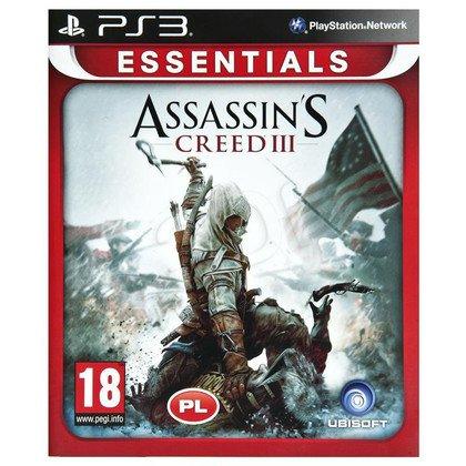 Gra PS3 Assassins Creed III Essentials