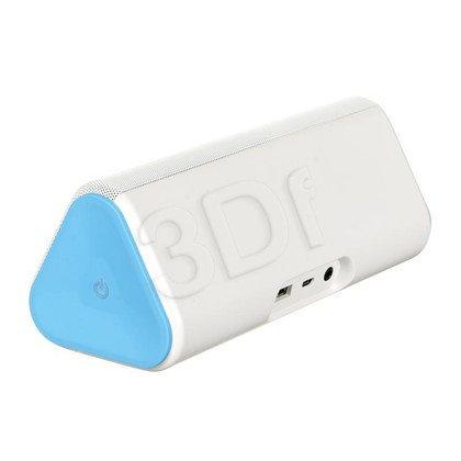 Głośnik bezprzewodowy HP Roar Plus Wireless Speaker biało-niebieski
