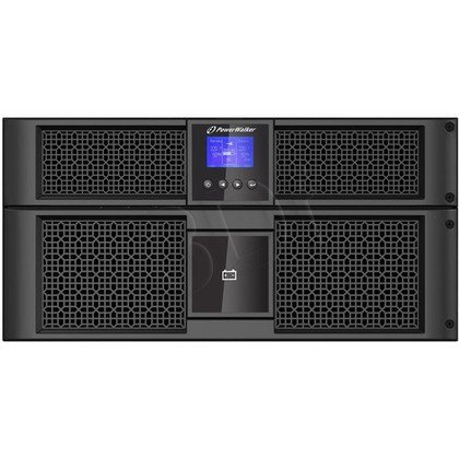 POWER WALKER UPS ON-LINE 10000VA 8X IEC/C19 + TERMINAL OUT, USB/RS-232, LCD, RACK 19""
