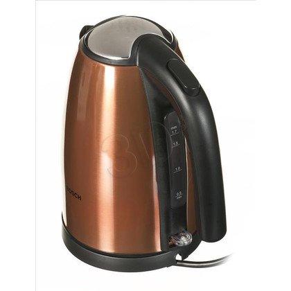 Czajnik elektryczny Bosch TWK7809 (1,7l 2200W Miedziany/czarny)