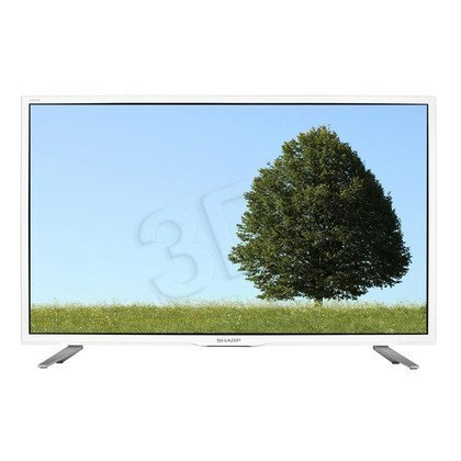 "TV 32"" LCD LED Sharp LC-32CHE5112EW (Tuner Cyfrowy 100Hz USB LAN)"