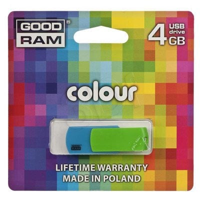 GOODRAM FLASHDRIVE 4096MB USB 2.0 COLOR MIX