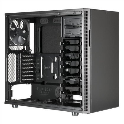 OBUDOWA FRACTAL DESIGN DEFINE R5 BLACKOUT - USB3.0 - CZARNA