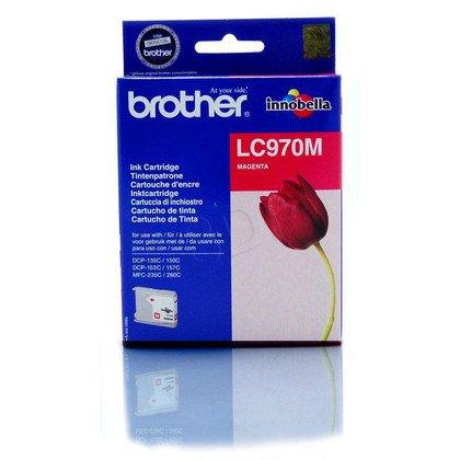 BROTHER Tusz Czerwony LC970M=LC-970M, 300 str.