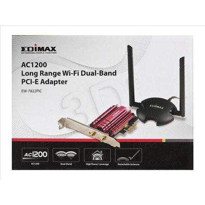Edimax Karta sieciowa bezprzewodowa EW-7822PIC PCIe