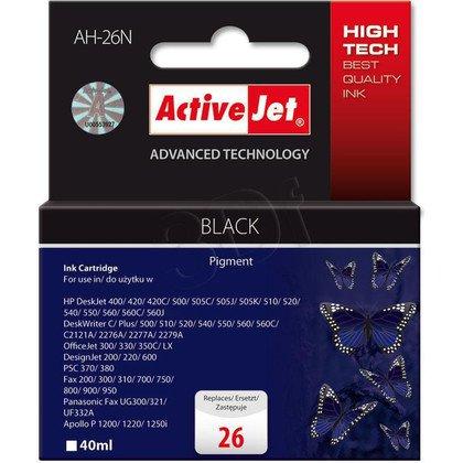 ActiveJet AH-26N tusz czarny do drukarki HP (zamiennik HP 26 51626A) Supreme
