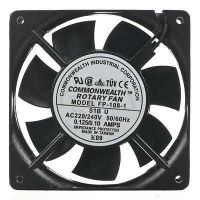 WENTYLATOR 220V-240V; 120x120 RAX-CH-X06-X9