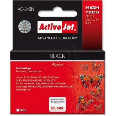 ActiveJet AC-24BN (AC-24BK) tusz czarny do drukarki Canon (zamiennik BCI-24)
