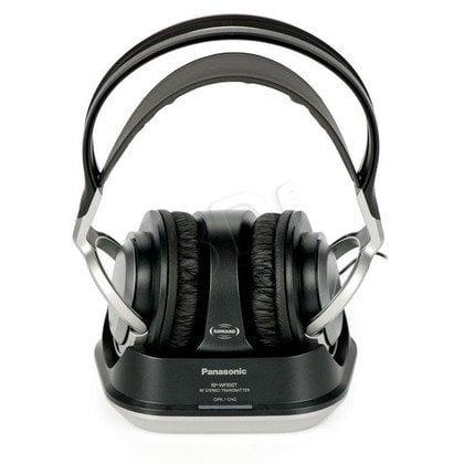 Słuchawki nauszne Panasonic RP-WF950E-S (Czarno-srebrny Radio)