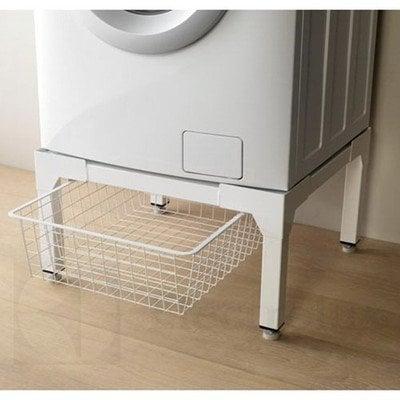 Biały stojak z szufladą (50281731005)