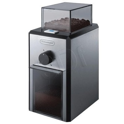 Młynek do kawy Delonghi KG89 (110W Żarnowy Srebrno-czarny)