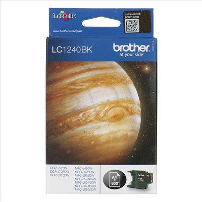 BROTHER Tusz Czarny LC1240BK=LC-1240BK, 600 str.