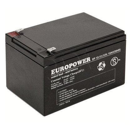 Akumulator EVER Do Ups - Europower 12V 12Ah
