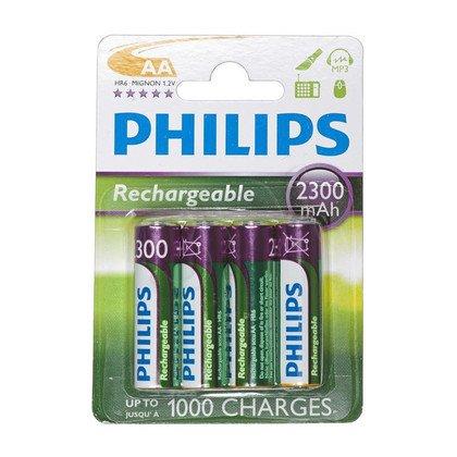 Philips Akumulator AA NiMH 2300mAh 4szt.