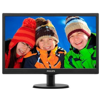 "Monitor Philips 203V5LSB26/10 LED 19,5"" HD+ TFT czarny"