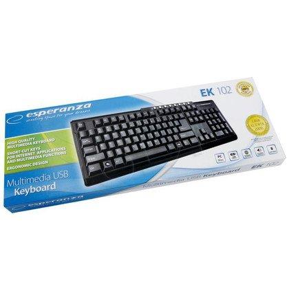 KLAWIATURA ESPERANZA MULTIMEDIALNA EK102 USB