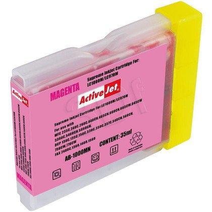 ActiveJet AB-1000MN (AB-1000M) tusz magenta do drukarki Brother (zamiennik LC1000M, LC970M)