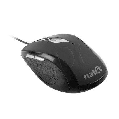 MYSZ NATEC PIGEON OPTYCZNA BLACK USB