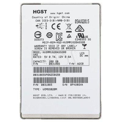 "Dysk SSD HGST Ultrastar SSD1600MM 2,5"" 200GB SAS 12Gb/s"
