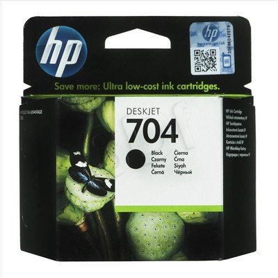 HP Tusz Czarny HP704=CN692AE, 480 str., 6 ml