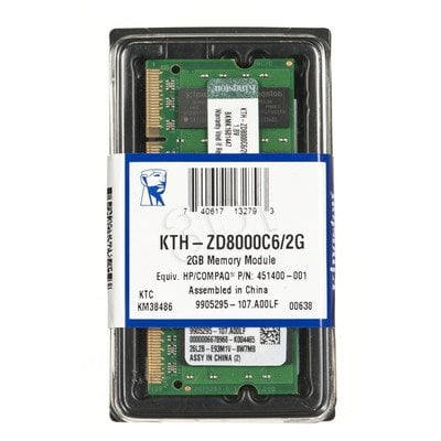 KINGSTON DED.NB KTH-ZD8000C6/2G 2GB 800MHz DDR2