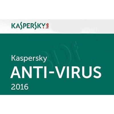 Kaspersky Anti-Virus 2016 ESD 5D/24M upg