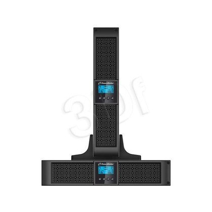 "POWER WALKER UPS POWER WALKER ON-LINE 1500VA 8X IEC OUT, USB/RS-232, LCD, RACK 19""/TOWER"