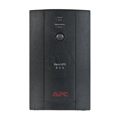 APC BX950U-FR BACK-UPS 950VA, 230V, AVR
