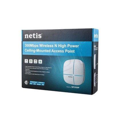 NETIS PUNKT DOSTĘPOWY SUFITOWY WIFI N300, POE PASYWNE