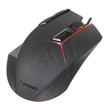 LENOVO Mysz przewodowa Y GX30J07894 8200dpi czarno-czerwona
