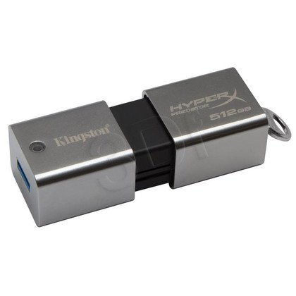 Kingston Flashdrive DataTraveler HyperX Predator 512GB USB 3.0 Srebrny
