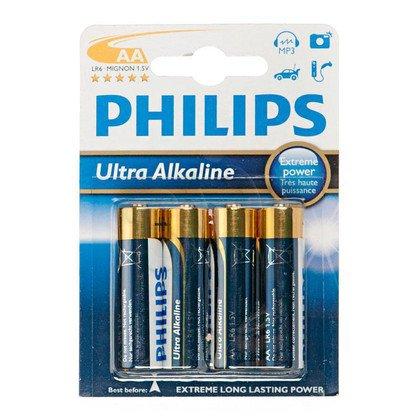 Bateria PHILIPS LR6E4B/10 ULTRA ALAKLINE (4szt.)