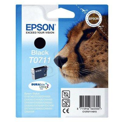 EPSON Tusz Czarny T0711=C13T07114011, 8 ml