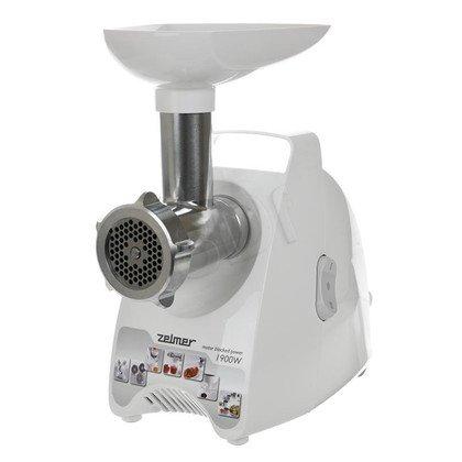 Maszynka do mielenia Zelmer ZMM1508S (987.80) (650W Biało-szary)