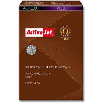 ActiveJet A-ERC30 kaseta barwiąca kolor fioletowy pasuje do drukarki igłowej Epson (zamiennik ERC30)