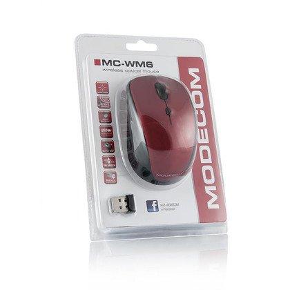 BEZPRZEWODOWA MYSZ MODECOM MC-WM6 RED